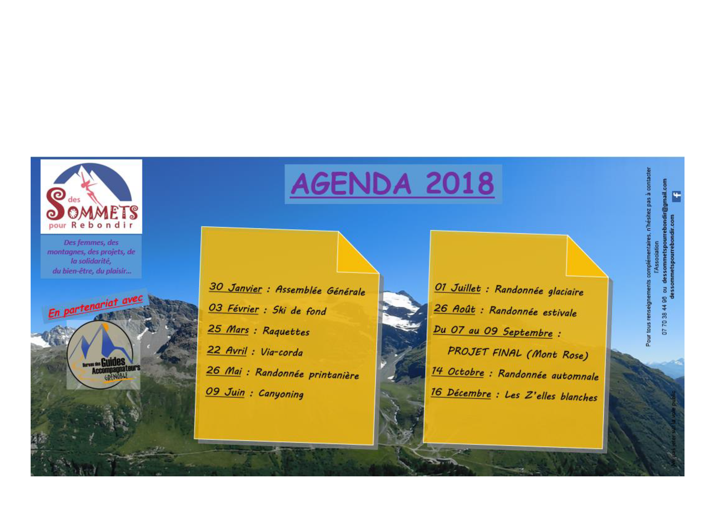 Randonnée Glaciaire - Des Sommets pour Rebondir