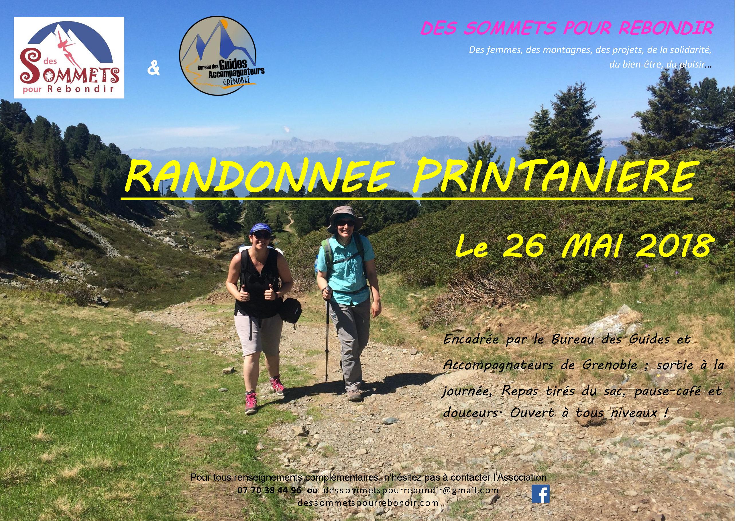 Randonnée Printanière - Des Sommets pour Rebondir