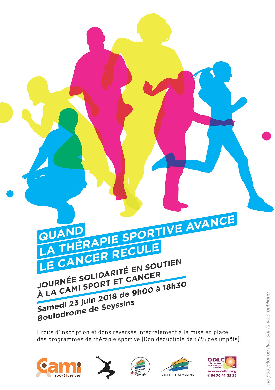 Journée solidarité en soutien à la CAMI Sport et Cancer @ Boulodrome de Seyssins