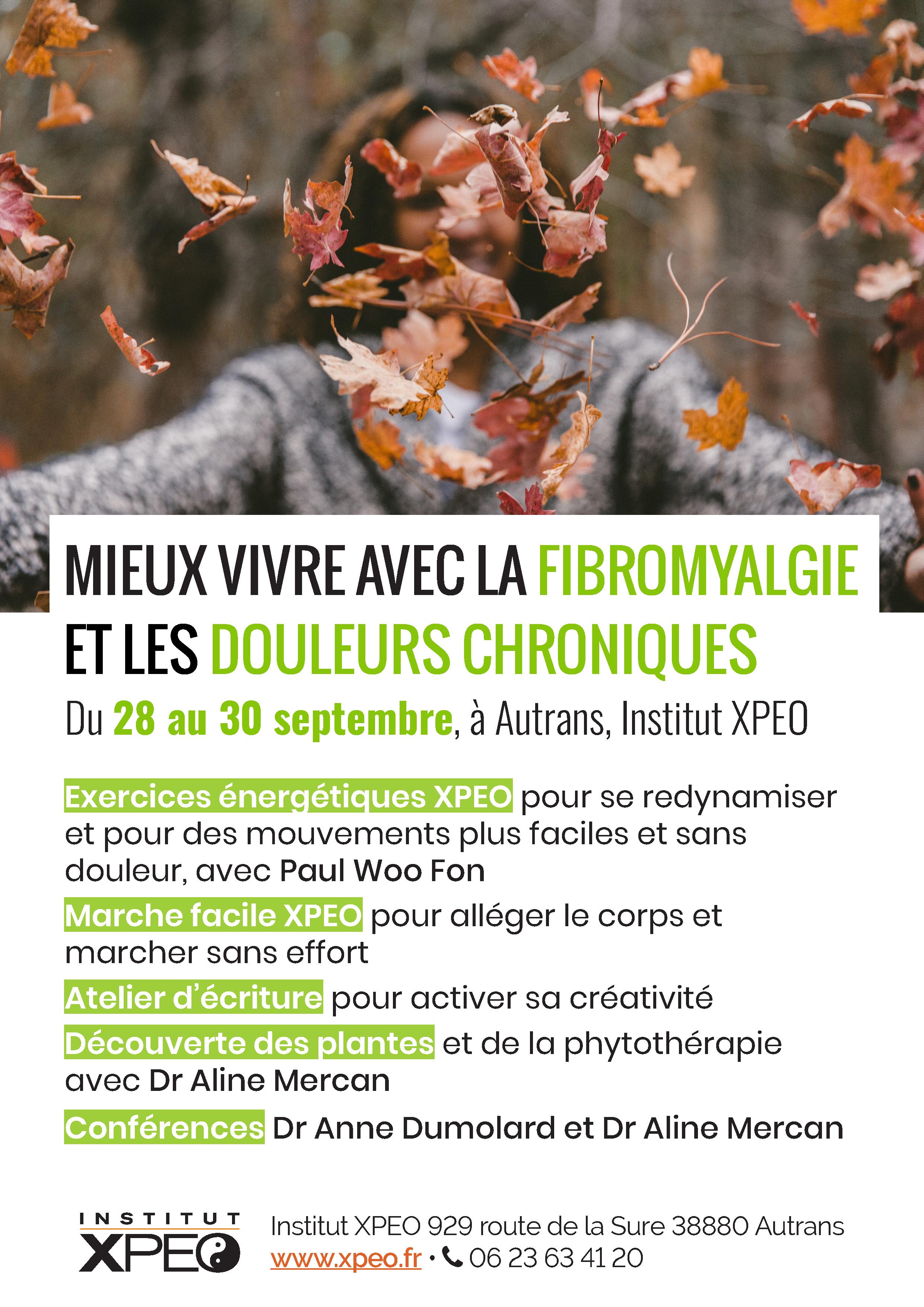 Séjour - Mieux vivre avec la fibromyalgie et les maladies chroniques >> Organisé par l'ITTCA @ Institut XPEO, Autrans